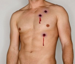 Fake bullet holes product review how to revenge for Can you give blood after getting a tattoo