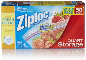ziploc plastic bags to make boogers