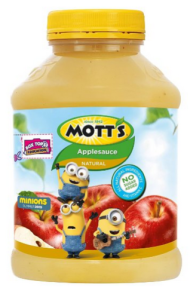 Applesauce for vomiting.