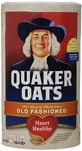 Oatmeal made by Quaker Oats